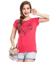 ガーベラレディース Tシャツ カットソー 半袖 mb14310-1