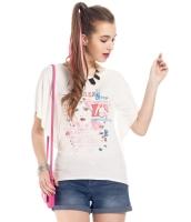 ガーベラレディース Tシャツ カットソー 半袖 ぺプラム裾 mb14315-2