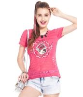 ガーベラレディース Tシャツ カットソー 半袖 ボーダー ベーシック mb14318-3
