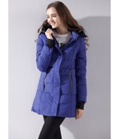 ガーベラレディース ダウンコート 欧米風 装着式ラビットファー襟 厚手 フード付き ミニAライン mb14394-1
