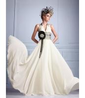 ガーベラレディース ウエディングドレス ロングドレス Aライン ロマンチック レース mb14528-1