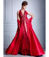 ガーベラレディース パーティドレス ロングドレス Aライン デラックス レース 大きい裾 着やせ mb14529-1