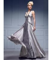 ガーベラレディース パーティドレス ロングドレス Aライン デラックス レース 大きい裾 着やせ mb14529-3