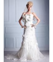 ガーベラレディース ウエディングドレス ロングドレス プリンセスライン デラックス 刺繍 mb14531-1