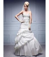ガーベラレディース ウエディングドレス ロングドレス Aライン デラックス mb14536-1