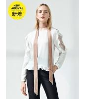 ガーベラレディース ファッション小物 スカーフ コーデアイテム サテン フリンジ mb14627-3