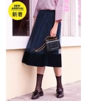 ガーベラレディース フレアスカート 膝丈スカート 韓国風 プリーツ コーデアイテム mb14644-2