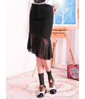 ガーベラレディース フレアスカート 膝丈スカート 韓国風 レース コーデアイテム mb14661-1