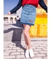 ガーベラレディース コーデアイテム デニムスカート ミニスカート Koreanスタイル mb15231-1