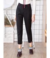 ガーベラレディース 裾 ロールアップ 刺繡入り サブリナパンツ Koreanスタイル mb15360-1