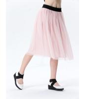 ガーベラレディース コーデアイテム ギャザースカート 膝丈スカート mb15402-2