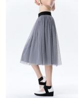 ガーベラレディース コーデアイテム ギャザースカート 膝丈スカート mb15402-3