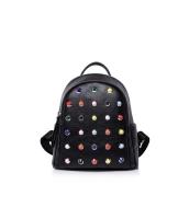 レディースバッグ バックパック リュックサック リベット シンプル 学生かばん コーデアイテム mb15730-1