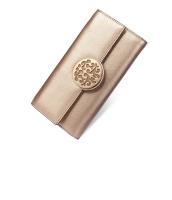 レディース財布 長財布 レトロ クラッチバッグ シンプル 牛革 マルチカード入れ 三つ折り mb15777-1