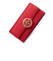 レディース財布 長財布 レトロ クラッチバッグ シンプル 牛革 マルチカード入れ 三つ折り mb15777-2