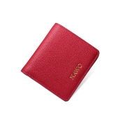 レディース財布 折りたたみ財布 牛革 マルチカード入れ 二つ折り mb15778-2