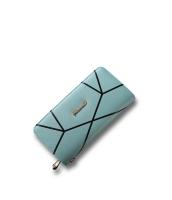 レディースバッグ クラッチバッグ セカンドバッグ レディース財布 長財布 幾何柄 大容量 mb15853-1