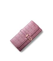 レディース財布 長財布 三つ折り H型口金 格子 クラッチバッグ mb15866-1