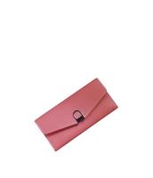 レディース財布 長財布 三つ折り マルチカード入れ 口金 レトロ シンプル クラッチバッグ mb15903-1