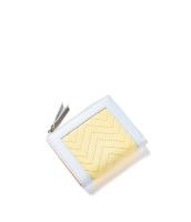 レディース財布 折りたたみ財布 シンプル 個性派 ジップアップ mb15933-1