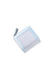 レディース財布 折りたたみ財布 シンプル 個性派 ジップアップ mb15933-2