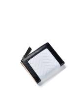 レディース財布 折りたたみ財布 シンプル 個性派 ジップアップ mb15933-3
