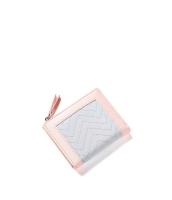 レディース財布 折りたたみ財布 シンプル 個性派 ジップアップ mb15933-4