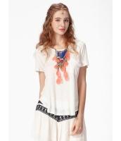 ガーベラレディース Tシャツ 半袖 mb16282-1