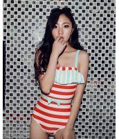 【即納】ファッションワンピース水着-tkm-n7107-r-l-【カラー:レッド】-【サイズ:L】