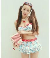 【即納】ワイヤービキニ水着+ミニスカート3点セット  tkm-n8086-m-wh【カラー:ホワイト】【サイズ:M】