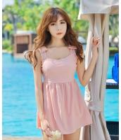 【即納】お腹カバースカート式タンキニ水着 tkm-n8129-2-m-pk【カラー:ピンク】【サイズ:M】