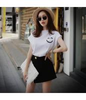 Tシャツ・カットソー 半袖 カジュアル コーデアイテム 笑顔 ホワイト pk3023-1