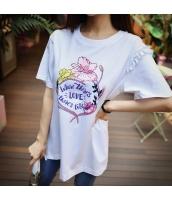 Tシャツ・カットソー 半袖 ぺプラム裾 カジュアル pk3071-1