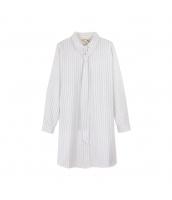ガーベラレディース シャツ 長袖 ゆったり ロングシャツ pk3358-1