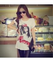 ガーベラレディース Tシャツ カットソー 半袖 かわいい 夏物 pk3836-1