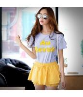 ガーベラレディース Tシャツ カットソー 半袖 スパンコール 夏物 pk3848-1