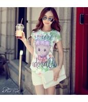 ガーベラレディース Tシャツ カットソー 半袖 かわいい 夏物 pk3852-1