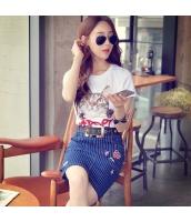 ガーベラレディース Tシャツ カットソー 半袖 猫柄 かわいい 着やせ 夏物 pk3863-1