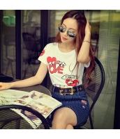 ガーベラレディース Tシャツ カットソー 半袖 かわいい 着やせ 夏物 pk3866-1