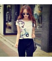 ガーベラレディース Tシャツ カットソー 半袖 かわいい コーディアイテム 夏物 pk3868-1