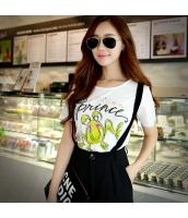 ガーベラレディース Tシャツ カットソー 半袖 かわいい 着やせ 夏物 pk3873-1