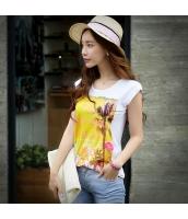 ガーベラレディース Tシャツ カットソー 半袖 着やせ 夏物 pk3897-1