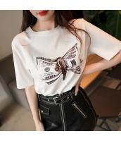 【Tシャツ】カットソー【半袖】ゆったり【夏物】 pk4001-1