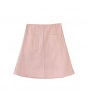 【フレアスカート】ミニスカート【着やせ】夏物【桃色】ピンク pk4038-2