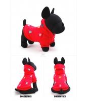 【即納】ドッグウェア 犬用品 パーカー 二足 tk-pt0040-1-s-rd【カラー:レッド】【サイズ:S】
