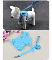 【即納】ペット用品 犬用品 ハーネスリード 小型・中型犬通用 tk-pt0144-1-m-lb【カラー:ライトブルー】【サイズ:M】
