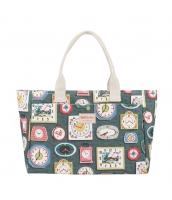 レディースバッグ トートバッグ ハンドバッグ 清楚 花柄 キャンバス 帆布 大容量 旅行 荷物入れ qa10004-4