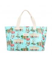 レディースバッグ トートバッグ ハンドバッグ 清楚 花柄 キャンバス 帆布 大容量 旅行 荷物入れ qa10004-6