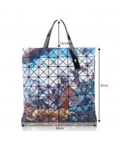 レディースバッグ ショルダーバッグ ハンドバッグ 2wayバッグ 幾何模様 菱柄 qa10030-4