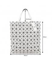 レディースバッグ ショルダーバッグ ハンドバッグ 2wayバッグ 幾何模様 菱柄 qa10030-5